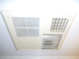 東京都大田区東馬込 浴室乾燥機能付き換気扇掃除後
