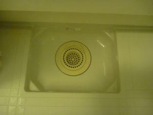 東京都目黒区碑文谷浴室排水口クリーニング後